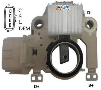 Regulador De Voltagem Ikro Ik 5806 Jac J3/mitsubishi Pajero