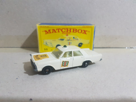 Matchbox Lesney Anos 50/60 - Nº 55 Ford Galaxie