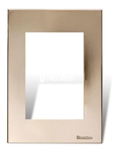 Imagen 1 de 1 de Tapa Y Distanciador Bauhaus Oro