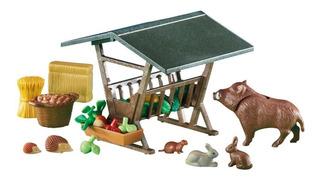 Comedero Con Animales Set 6470 - Playmobil