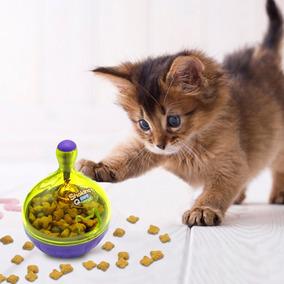 Comedouro Interativo Slimcat Brinquedo Alimentador P/ Pet