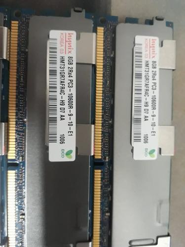 Imagem 1 de 2 de Memoria Hynix 8gb 2rx4ddr3 Pc3-10600r Hmt31gr7cfr4a Servidor