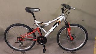 Bicicleta Juvenil Huffy Tundra 18-speed, Rodado 24, U.s.a.
