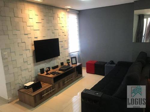 Imagem 1 de 26 de Apartamento Com 3 Dormitórios À Venda, 63 M² Por R$ 315.000,00 - São João Clímaco - São Paulo/sp - Ap0179