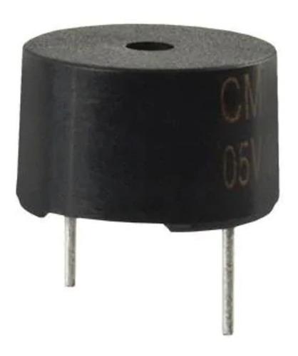 Buzzer Activo 5v 3.1khz Oscilador 90db 30 Ma Diametro 12mm
