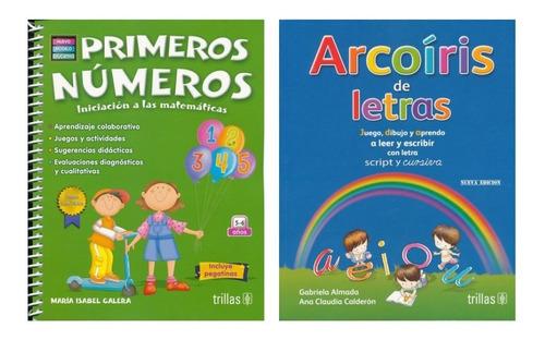 Imagen 1 de 5 de Pack Números Matemáticas Y Arcoíris Letras Envío Gra Trillas