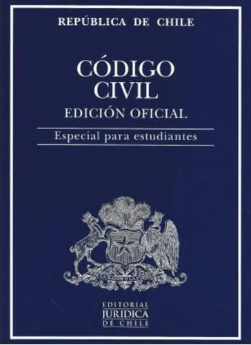 Codigo Civil 2021 Ed.oficial Estudiantes / Juridica De Chile