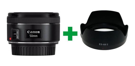 Lente Canon 50mm 1.8 Stm Original + Parasol