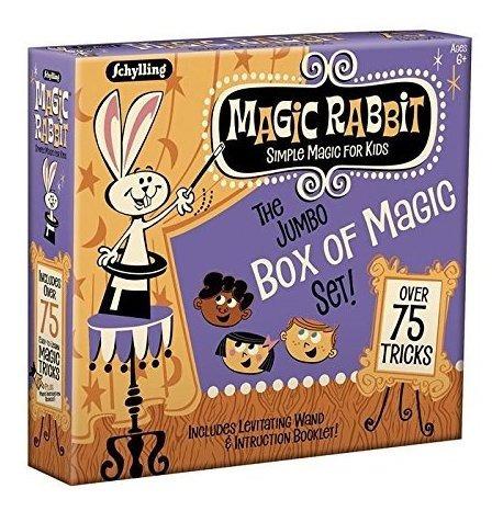 Schylling Magic Rabbit Jumbo Caja De Trucos De Magia Set