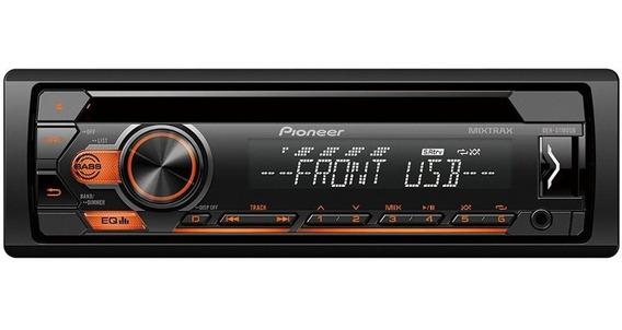 Auto Rádio Pioneer Deh-s1180ub Usb Cd Am Fm Entrada Auxiliar