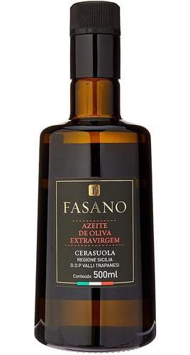 Imagem 1 de 2 de Azeite Extravirgem Fasano 100% Siciliano Cerasuola 500ml