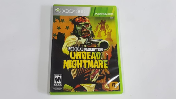 Red Dead Redemption Undead Nightmare - Xbox 360 - Original