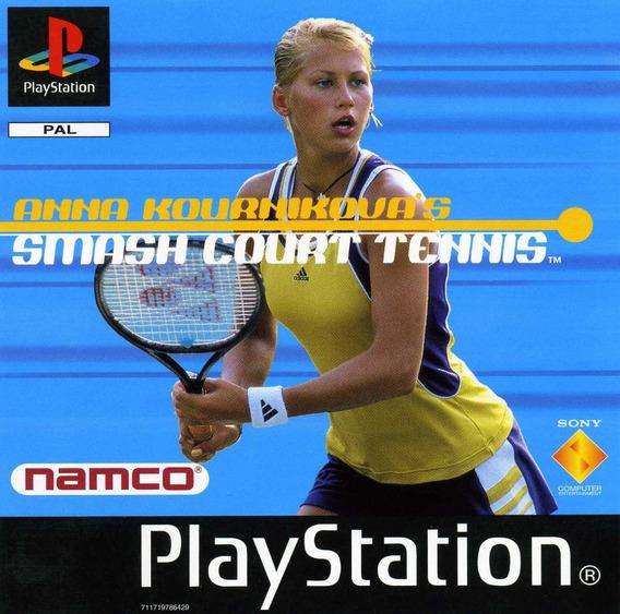 Anna Kounikovas Smash Court Tennis - Playstation 1 Psx 1998