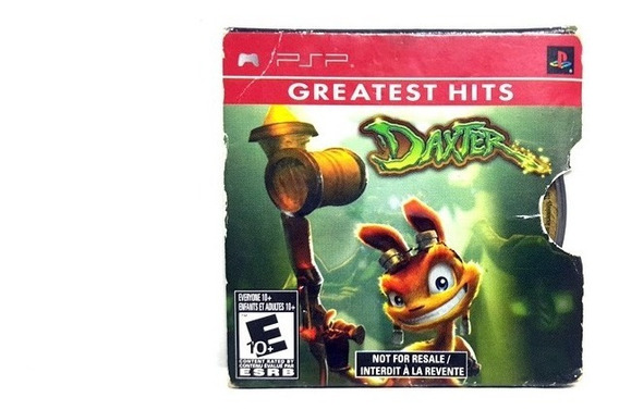 Jogo Psp Greatest Hits Daxter - Disco Psp Original