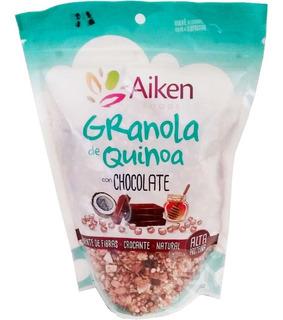3x Granola De Quinoa 250g Aiken Protéica. Variedes Elección!