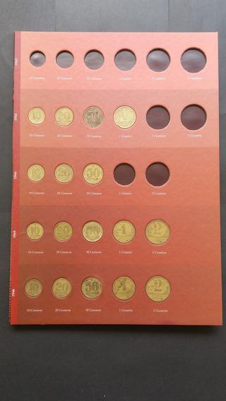 Coleção De Moedas De 1942 A 1956