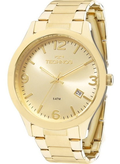 Relógio Technos Feminino Dourado Classic Steel 2035lrp/4x
