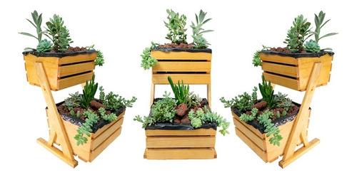 Imagen 1 de 4 de Mini Cultivo Vertical Suculentas