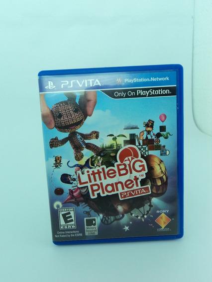 Jogo Psvita - Little Big Planet - Aproveite 12x Sem Juros!!!
