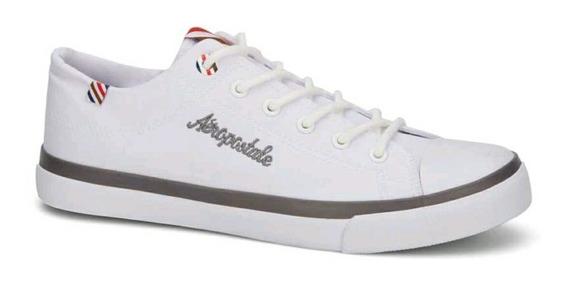 Tenis Sneaker Aeropostal Caballero Blancos