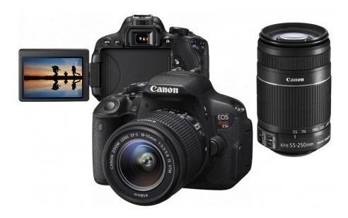 Câmera Fotográfica Canon Rebel T5i Seminova Sem Avarias