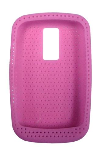 Funda Celular Blackberry 9000 Silicona Rosa V3024