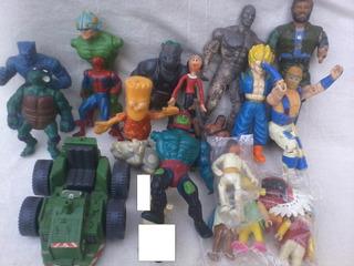 Lote Muñecos Rambo Heman Tortugas Ninjas