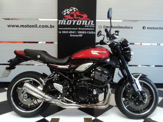 Kawasaki Z900 Rs Marrom 2019