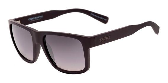 Óculos Evoke For You | Ds12 D01 - Brown Matte / Gray