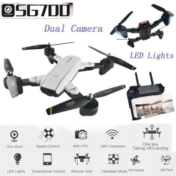 Drone Sg-700 2cameras 720p Wifi Fpv Novo