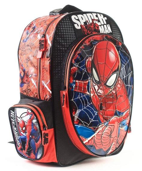 Mochila Escolar Spiderman 17 Pulgadas Excelente Calidad