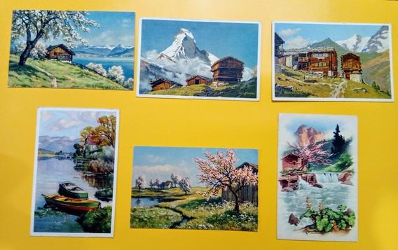 6 Tarjetas Postales: Paisajes