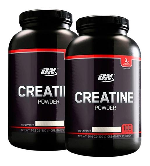 Creatina Black 300 Gr Optimum Nutrition X 2 Unidades