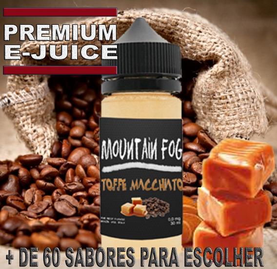 Essencia Liquida E Liquid Premium Juice Para Vapers 30ml