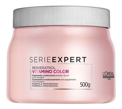 Imagem 1 de 10 de Máscara L'oréal Professionnel Vitamino Color-500 Ml