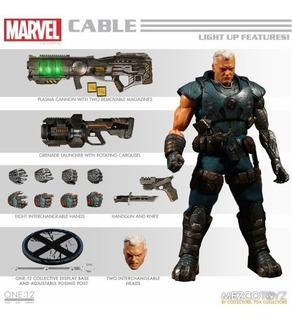 Mezco One 12 Marvel Cable 15 Cm