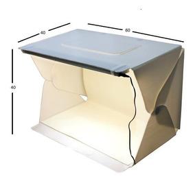 Mini Studio Fotografia Evobox Plus 60 Cm Led - Curv
