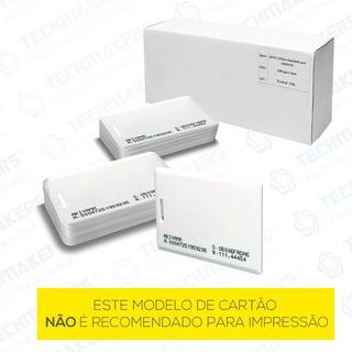 Cartão Proximidade Clamshell Rfid Com Furo 125khz - 100 Unid