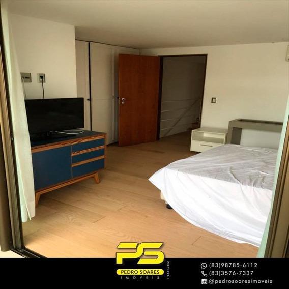 Bangalô Com 3 Dormitórios Para Alugar Por R$ 3.500/mês - Lot. Nazareth - Cabedelo/pb - Bg0016