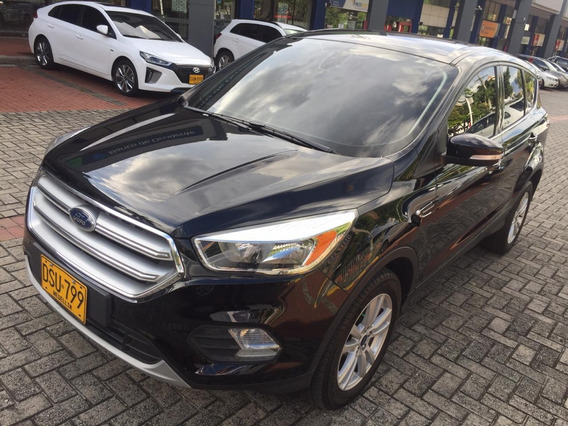 Ford Escape Se 2.0 2017 Negra 5 Puestos