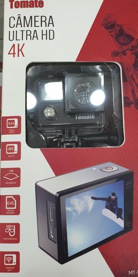 Nova Camera Filmadora Prova D´água Tomate 4k Ultra Wifi