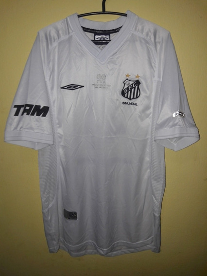Camisa Do Santos 2002 (umbro) #4 Jogo