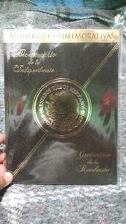 Álbum Completo Del Centenario Y Bicentenario 37 Monedas New