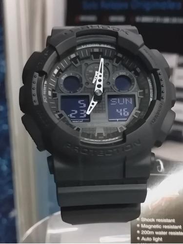 Reloj Casio G-shock Ga-100-1a -100% Original Nuevo - Ztr