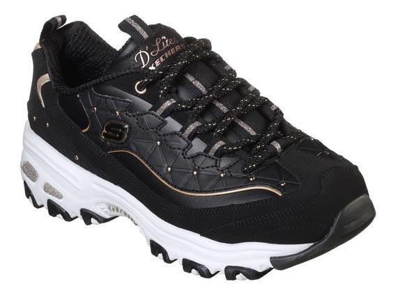 Zapatillas Skechers D Lites Moda Dama Asfl70
