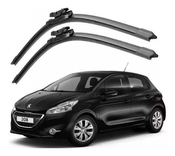 Palheta Limpador Para Brisa Bosch Peugeot 208 2013 A 2019