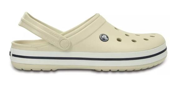 Crocs Originales Crocband Blanco Unisex | Hombre Mujer