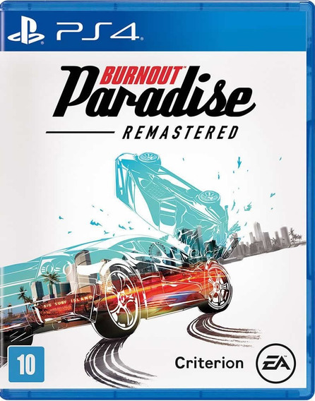 Burnout Paradise - Remastered - [ps4] Lacrado