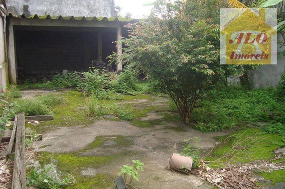 Terreno À Venda, 470 M² Por R$ 650.000,00 - Vila Santa Rosa - Cubatão/sp - Te0034