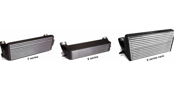 Intercooler Race Bmw E82 135 N54 N55 Auto Turbo Gcp
